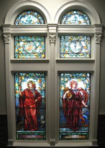 Image of Windows with Art and Literature Design