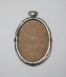 Image of Oval Silver Frame