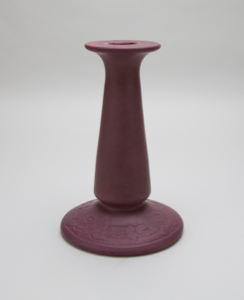 Image of Candlestick with Swamp Rose Design