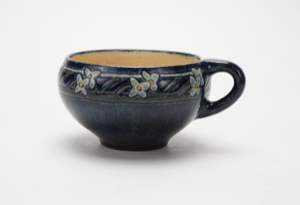 Image of Cup with Partridgeberry Design