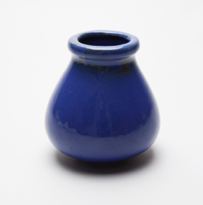 Image of Small Royal Blue Vase