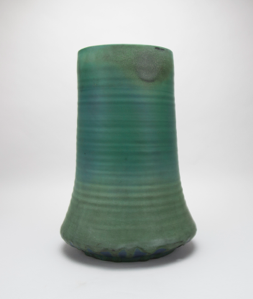 Image of Vase with Matte Green