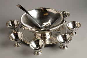 Image of Silver Punch Bowl