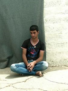 "Image of Abdallah, from ""Syria's Lost Generation"""