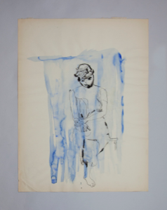 Image of Untitled (Woman in Blue)