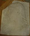 Image of Unknown (relief sculpture of woman with braid, in profile)