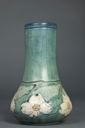 Image of Vase with Dogwood Blossoms Design