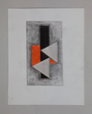 Image of Untitled (Grey, Silver, Orange and Black)