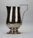 Image of Hand-wrought and Soldered Silver Water Pitcher