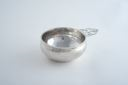 Image of Cut-out and Hand-wrought Silver Porringer