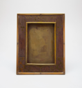 Image of Inlaid Rosewood Frame with Stylized Floral Design