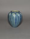 Image of Vase with Freesia Design