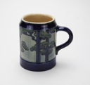 Image of Mug with Pine Tree Design