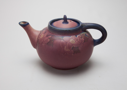 Image of Teapot with Dogwood Design