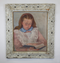 Image of Portrait of Patricia as Girl (reading)