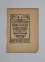 Image of Newcomb College Calendar 1902-3 (12 pages)